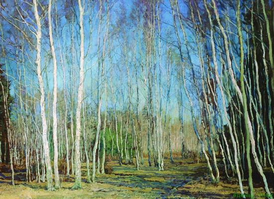 Бакшеев в н голубая весна 1930